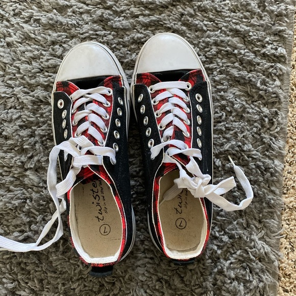 Twisted Shoes   Canvas   Poshmark